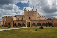 Colonial church in Valladolid Royalty Free Stock Photo