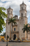 Colonial church in Valladolid Royalty Free Stock Photography
