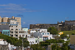 Colonial city of San Juan Stock Images