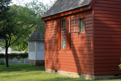 Colonial cottage Royalty Free Stock Photos