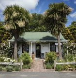 Colonial Cottage, Greytown, Wairarapa, New Zealand. Greytown is a cool little town in the Wairarapa, New Zealand. It`s a small town over the Rimuataka Hill Road royalty free stock photo