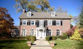 Colonial d'Oak Park Photos stock