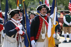 Colonial Days. Memorial day celebration at the Vietnam veterans Memorial in washington DC Stock Photo