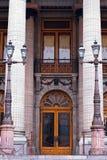 Colonial doors Stock Photo