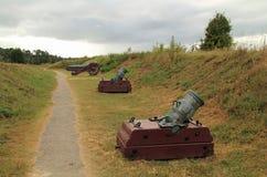 Colonial Era Artillery Royalty Free Stock Photo