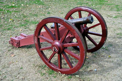 Colonial Era Cannon Stock Photography