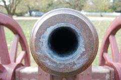 Colonial Era Cannon Royalty Free Stock Photography