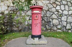 Colonial era post box Royalty Free Stock Photography
