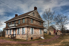 Colonial farm. Buildings in Pennsylvania Royalty Free Stock Photography