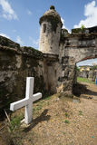 Colonial fort ruins Stock Photos