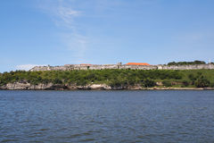 Colonial fortress in the bay of Havana Stock Photography