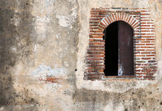 Colonial Fortress Window Stock Photography