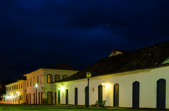 Colonial and historical cities. At bight Paraty Rio de Janeiro Brazil Stock Photography