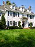 Colonial Home. An elegant colonial style home Stock Image