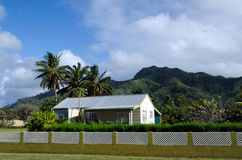 Colonial home in Rarotonga Cook Islands Stock Photos