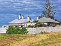 Colonial Homestead, Australia. A well preserved and maintained heritage protected historic colonial homestead or house, NSW, Australia royalty free stock photos