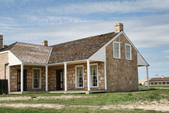 Colonial House Stock Image