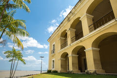 Colonial house in Belem do Para, Brazil Royalty Free Stock Photos