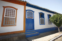 Colonial house brazil Stock Photo