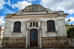 Colonial House in Colonia del Sacramento Royalty Free Stock Images