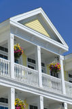 Colonial House Detail Stock Photo