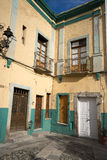 Colonial house details in guanajuato mexico Stock Photos