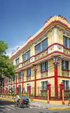 Colonial house in intramuros area of manila philippines Royalty Free Stock Photo