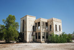 Colonial house in massawa eritrea Stock Photography