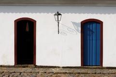 Colonial House Paraty Rio de Janeiro Brazil Stock Image
