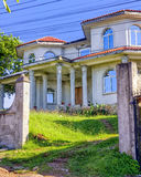 Colonial House in Roatan Royalty Free Stock Photos