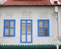 Colonial house in Singapore Stock Images