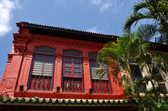 Colonial house in Singapore Stock Photos