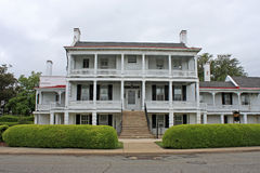 Colonial House. In Virginia, USA Stock Image