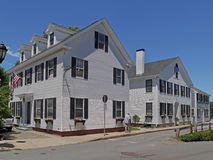 Colonial houses Stock Image