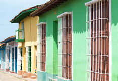 Colonial Houses in Trinidad,Cuba Royalty Free Stock Photography