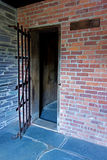 Colonial Jail House Inside Royalty Free Stock Photo