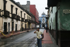 Colonial lima Stock Photography