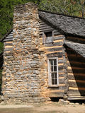 Colonial Log Cabin – Great Smoky Mountains Nationa Royalty Free Stock Photos
