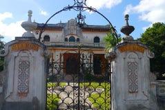 Colonial México da casa da arquitetura Imagens de Stock Royalty Free
