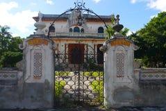 Colonial México da casa da arquitetura Foto de Stock