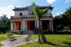 Colonial México da casa da arquitetura Fotos de Stock Royalty Free