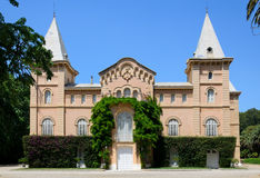 The colonial mansion of the Sama Park in Tarragona Stock Photography