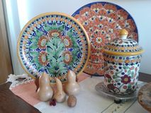 Colonial Mexican Handycraft Art Stock Photo