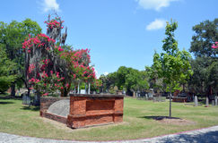Colonial Park Cemetery Royalty Free Stock Images