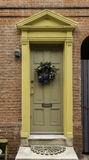Colonial Philadelphia Doorway Stock Images
