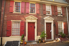 Colonial Philadelphia Royalty Free Stock Images
