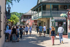 Colonial Quarter, St. Augustine, Florida Royalty Free Stock Images