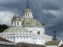 Colonial Quito Cathedral. Ecuador Royalty Free Stock Images