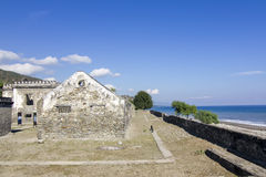 Colonial ruins in East Timor Royalty Free Stock Photos