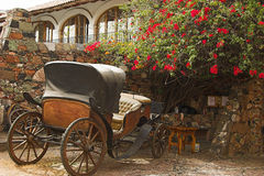 Colonial scene of Taxco, Mexico. Colonial street scene of the silver capital - Taxco, Mexico Stock Image